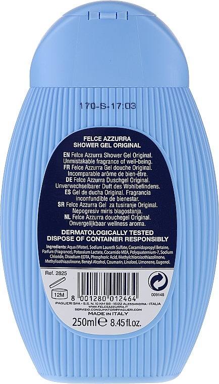 "Душ гел ""Original"" - Felce Azzurra Shower Gel Original — снимка N2"