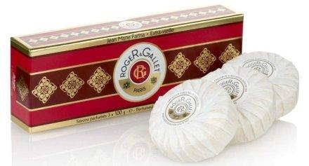 "Комплект от три парфюмни сапуна ""Жан Мари Фарина"" - Roger & Gallet Jean Marie Farina Perfumed Soaps (soap/3х100g ) — снимка N3"