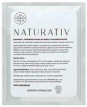 Парфюмерия и Козметика Успокояваща и хидратираща маска за лице с ориз - Naturativ Face Mask