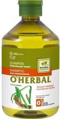 "Укрепващ шампоан за коса ""Растеж и сила"" - O'Herbal"
