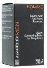 Парфюми, Парфюмерия, козметика Активен регенериращ балсам против бръчки - Academie Homme Balm
