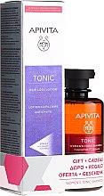 Парфюмерия и Козметика Комплект за коса - Apivita Tonic (лосион/150mll + шампоан/250ml)