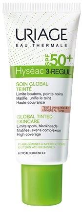 Тониращ крем за мазна кожа - Uriage Hyseac 3-Regul Global Tinted Skincare SPF50 — снимка N2