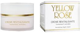 Парфюмерия и Козметика Нощен възстановяващ крем за лице - Yellow Rose Creme Revitalisante