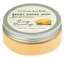 Парфюмерия и Козметика Захарен мус за душ с аромат на портокал - The Secret Soap Store Orange Body Sugar Whip