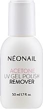 Парфюмерия и Козметика Ацетон за премахване на гел-лак - NeoNail Professional Acetone UV Gel Polish Remover