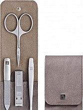 Парфюми, Парфюмерия, козметика Комплект за маникюр от 4 части - Tweezerman Twinox Manicure Set