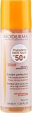 Слънцезащитен фон дьо тен - Bioderma Photoderm Nude Touch Golden Color Spf 50+ — снимка N3