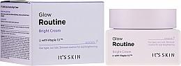 Парфюмерия и Козметика Крем за изравняване тена на кожата, за лице - It's Skin Glow Routine Bright Cream