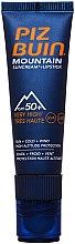 Парфюмерия и Козметика Слънцезащитно червило-крем за устни - Piz Buin Mountain Suncream + Lipstick SPF50
