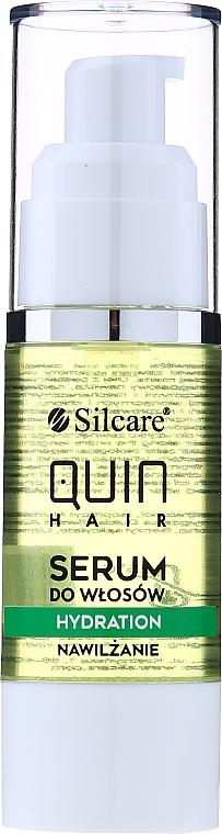 Овлажняващ серум за коса - Silcare Quin Hydration Hair Serum