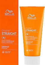 Парфюмерия и Козметика Изправящ спрей за нормална и непокорна коса - Wella Professionals Creatine+ Straight N