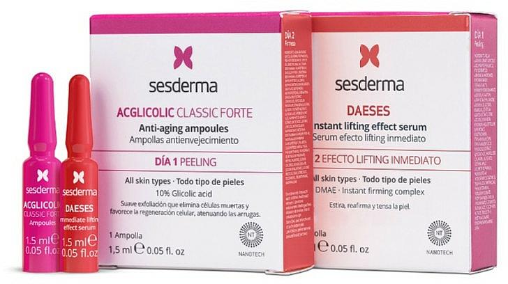 Комплект ампули за лице - SesDerma Laboratories (amp/1.5ml + amp/1.5ml) — снимка N1