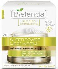 Парфюми, Парфюмерия, козметика Активен коригиращ крем ден/нощ - Bielenda Skin Clinic Professional Mezo Anti-age
