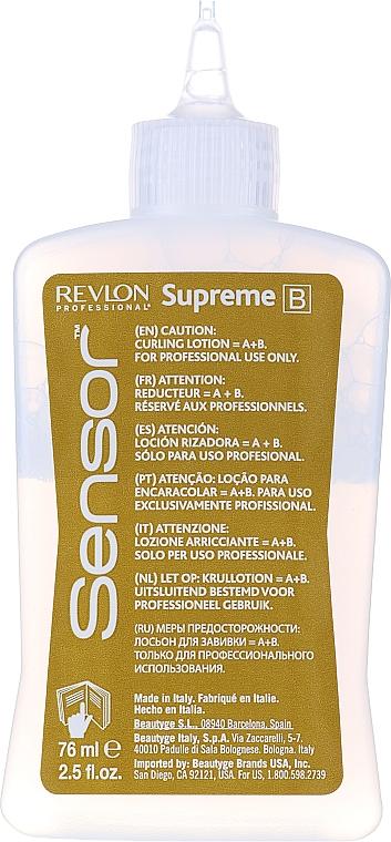 Продукт с химическо покритие при боядисана коса - Revlon Professional Sensor Perm-Supreme — снимка N10