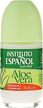 Парфюми, Парфюмерия, козметика Рол-он дезодорант с екстракт от алое вера - Instituto Espanol Aloe Vera Roll-on Deodorant