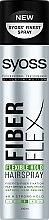 """Парфюми, Парфюмерия, козметика Лак за коса """"Еластично фиксиране"""" - Syoss Fiber Flex Flexible Hold Hair Spray"""