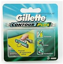 Парфюмерия и Козметика Ножчета за бръснене - Gillette Contour Plus