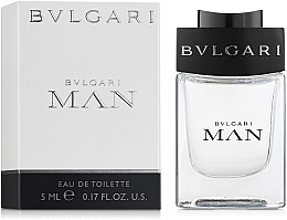 Парфюми, Парфюмерия, козметика Bvlgari Man - Тоалетна вода (мини)