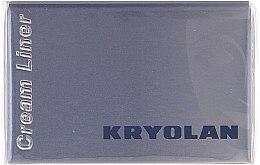 Парфюми, Парфюмерия, козметика Водоустойчива очна линия - Kryolan HD Cream Liner