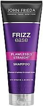 Парфюмерия и Козметика Шампоан за изправяне на чуплива, къдрава и непокорна коса - John Frieda Frizz-Ease Flawlessly Straight Shampoo