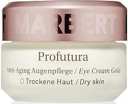 Парфюмерия и Козметика Околоочен крем за суха кожа - Marbert Anti-Aging Care Profutura