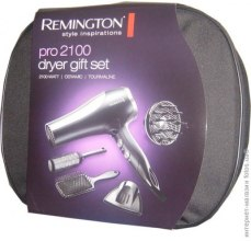 Парфюмерия и Козметика Подаръчен комплект Pro 2100 - Remington Hairdryer with facilities Gryer Gift Set D5017