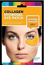 Парфюмерия и Козметика Колагенова маска под очи със злато и хиалуронова киселина - Beauty Face Collagen Hydrogel Eye Mask