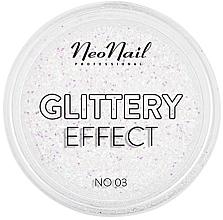 Парфюмерия и Козметика Глитер за нокти - NeoNail Professional Glittery Effect