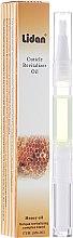 Парфюмерия и Козметика Молив за кутикули с аромат на Мед - Lidan Curticle Revitalizer Honey Oil