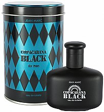 Парфюми, Парфюмерия, козметика Jean Marc Copacabana Black For Men - Тоалетна вода