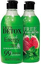 Парфюми, Парфюмерия, козметика Енергизиращ био душ гел - Body Boom Fresh Energy