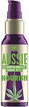 Парфюмерия и Козметика Масло за коса с екстракт от австралийско конопено семе - Aussie Miracle Oil Nourish