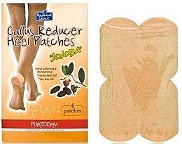 Парфюмерия и Козметика Пачове против мазоли и пукнатини - Purederm Botanical Choice Callus Reducer Heel Patches