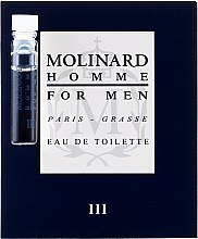 Парфюмерия и Козметика Molinard Homme III Molinard - Тоалетна вода (мостра)
