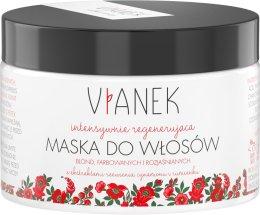 Парфюмерия и Козметика Интензивно подхранваща маска за светли коси - Vianek Blond Hair Mask