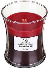 Парфюмерия и Козметика Ароматна свещ в чаша - WoodWick Hourglass Trilogy Candle Sun Ripened Berries