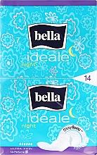 Парфюмерия и Козметика Дамски превръзки Ideale Ultra Night StaySofti, 14 бр - Bella