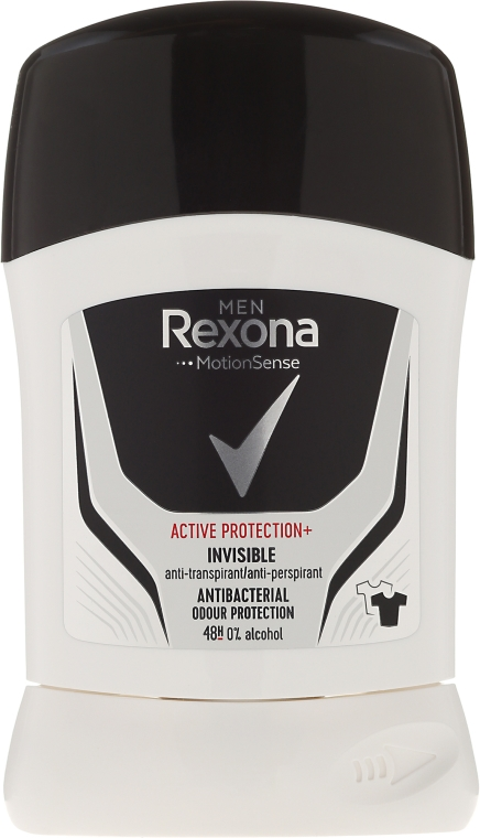 Стик дезодорант за мъже - Rexona Motion Sense Active Protection+ Invisible