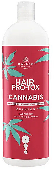 Шампоан за коса с конопено масло - Kallos Pro-tox Cannabis Shampoo
