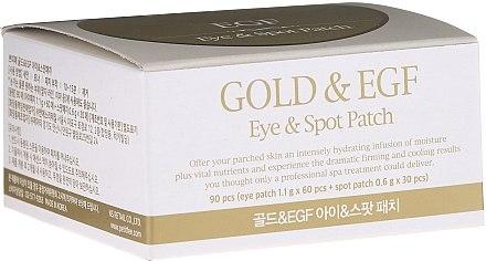 Хидрогел пачове за очи със злато - Petitfee & Koelf Gold&EGF Eye&Spot Patch  — снимка N1