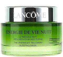 Парфюмерия и Козметика Нощна възстановяваща и хидратираща маска за лице - Lancome Energie De Vie The Overnight Recovery Sleeping Mask (тестер)