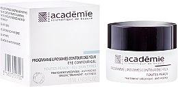 Парфюмерия и Козметика Липозомен крем за околоочния контур - Academie Liposomes Eye Contour Gel