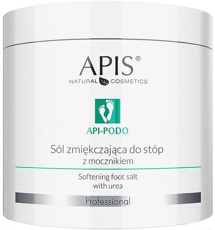 Омекотяващи соли за крака с карбамид - Apis Professional Api-Podo Softening Foot Salt With Urea
