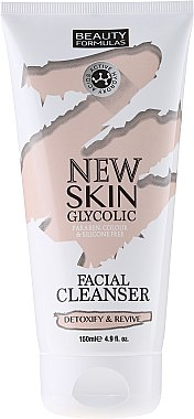 Почистващо мляко за лице - Beauty Formulas New Skin Glycolic Facial Cleanser