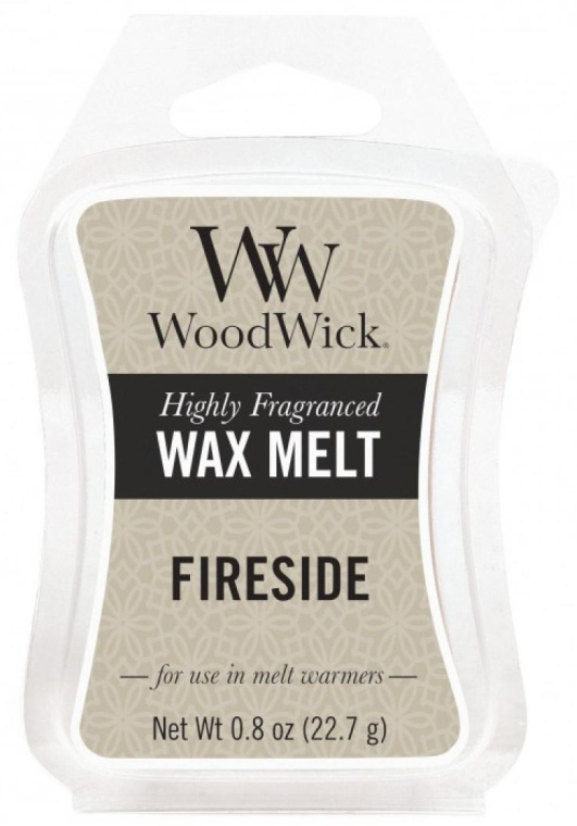Ароматен восък - WoodWick Wax Melt Fireside — снимка N1