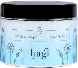 Парфюми, Парфюмерия, козметика Пудра за вана с метличина - Hagi Bath Puder