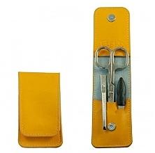 """Парфюмерия и Козметика Маникюрен комплект """"Mango"""", 3 инструмента - Credo Solingen Luxurious Manicure Set"""