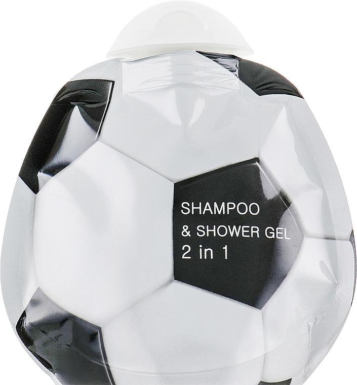 Шампоан-душ гел 2 в 1 с масло от кедър и бергамот - Cafe Mimi Shampoo & Shower Gel (пълнител)