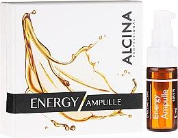 """Парфюмерия и Козметика Ампули за лице """"Енергизираща грижа за уморена кожа"""" - Alcina Energy Ampulle"""